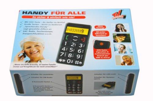 TV Das Original Großtasten-Handy mit integriertem Radio schwarz - 2