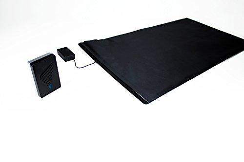 Sensormatte Alarm Funk Alarm Trittmatte Pflegehilfe mit Vibrationsempfänger