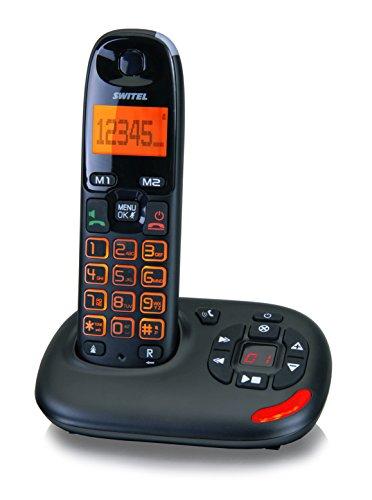 Switel DCT50071 VITA uno Seniorentelefon mit Anrufbeantworter