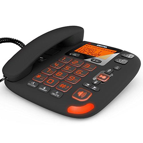 Switel DCT50073C VITA trio combo Seniorentelefon mit Anrufbeantworter - 3