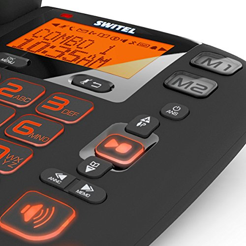 Switel DCT50073C VITA trio combo Seniorentelefon mit Anrufbeantworter - 8