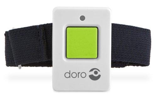 Doro Secure 350 Schnurgebundenes Großtastentelefon mit Notruf-Alarmgeber weiß - 6