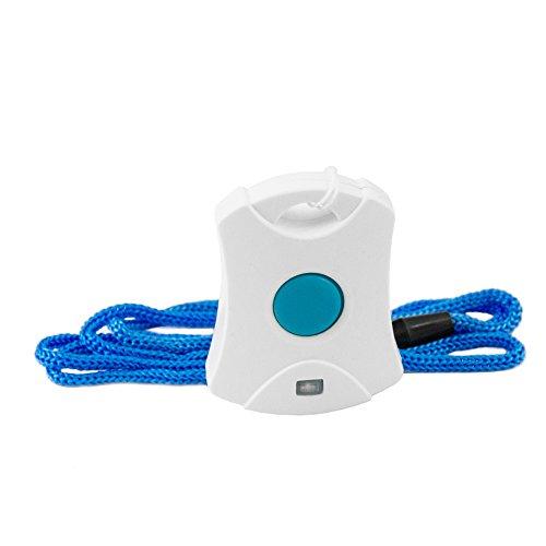 Senioren Funk-Notruf-System inkl. Halsband u. Armband Sender für zu Hause - 3