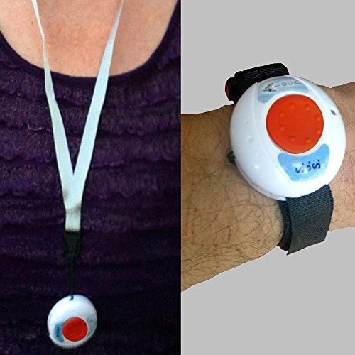 Pflegeruf-Set mit (Not-) Ruf an Handy oder Telefon – über Funk-Armbandsender und Mobilfunknetz - 3