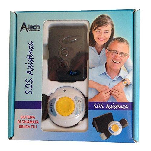 """Pflegeruf-Set """"Help-Me"""". Funk-Rufsystem mit Arm- und Halsbandsender* und mobilem Empfänger (ohne Quittierungsfunktion). Ideal für die häusliche Kranken- und Altenpflege."""