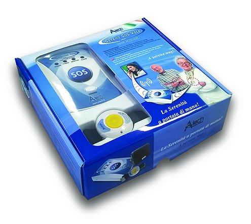 Pflegeruf-Set Sereno SOS PLUS mit (Not-) Ruf an Handy oder Telefon – über Funk-Armbandsender und Mobilfunknetz - 3