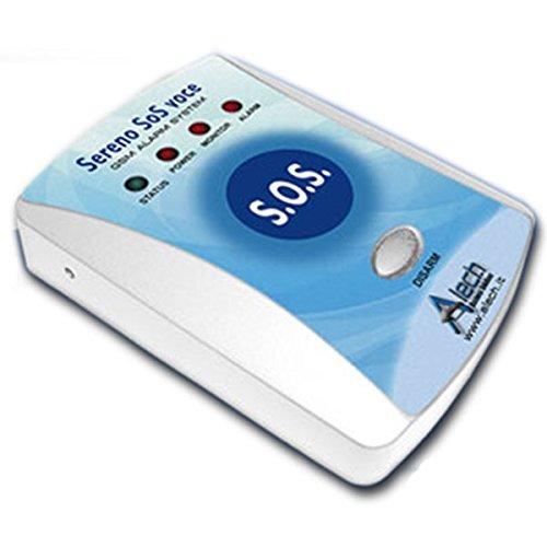 Pflegeruf-Set Sereno SOS PLUS mit (Not-) Ruf an Handy oder Telefon – über Funk-Armbandsender und Mobilfunknetz - 4