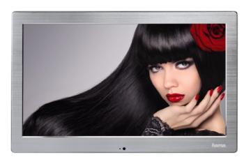 00118571 Digitaler Bilderrahmen ´´133SLPFHD´´ 33,80 cm (13,3´´) Slim Full HD (Silber) (Versandkostenfrei)