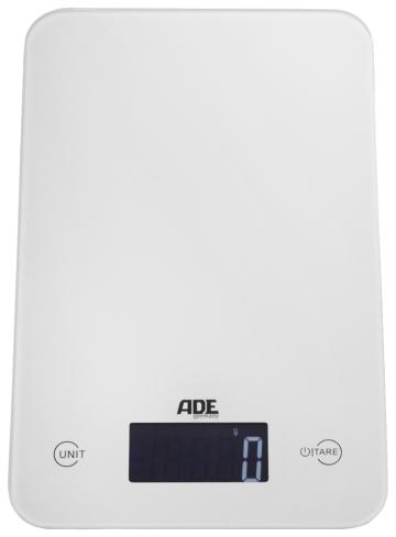 ADE Digitale Küchenwaage KE 915/926/927 Slim weiß