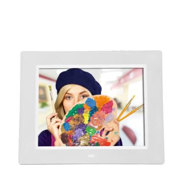 Degas DPF-800 digitaler Bilderrahmen 20,3cm/8 Kalender-/Uhr-Funktion (Weiß) (Versandkostenfrei)