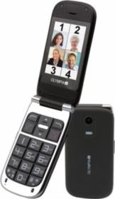 OLYMPIA Becco plus - Senioren Mobiltelefon in schwarz