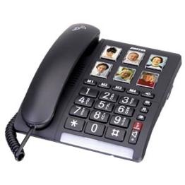 SWITEL TF540 - Telefon, schnurgebunden, schwarz