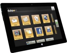 dukaPC Tablet schwarz